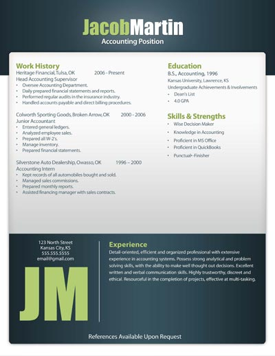Free Resume Template 12
