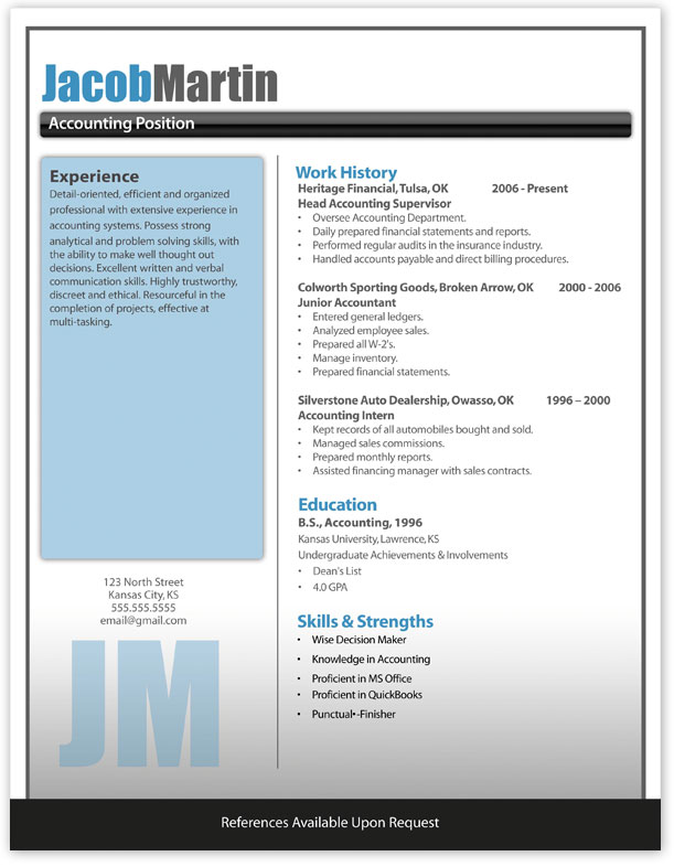 Charming Modern2 Hi. Download Word Resume
