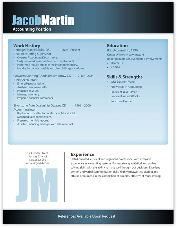 Majestic Design Ideas Contemporary Resume   Modern Resume