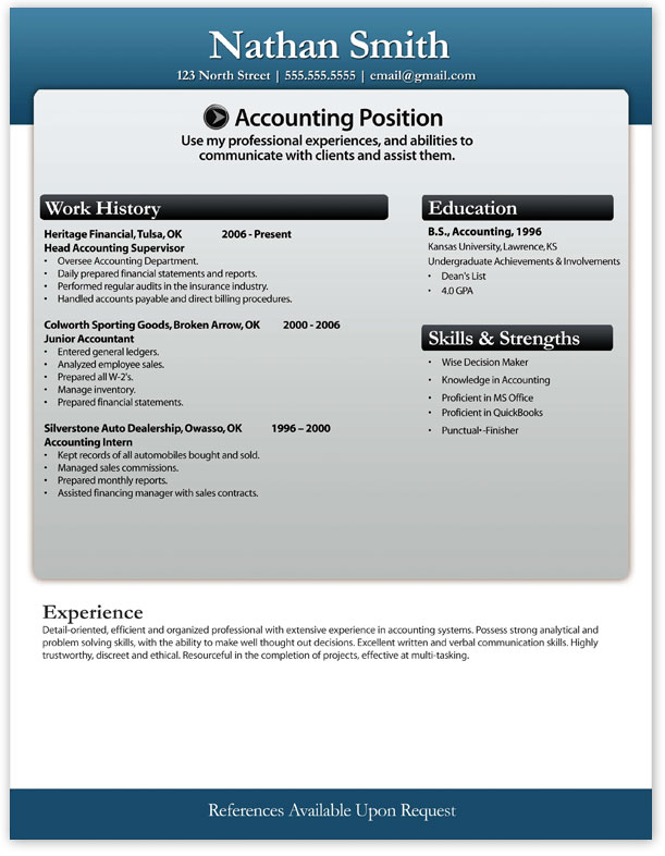 microsoft word resume download - Resume Template Download Free Microsoft Word